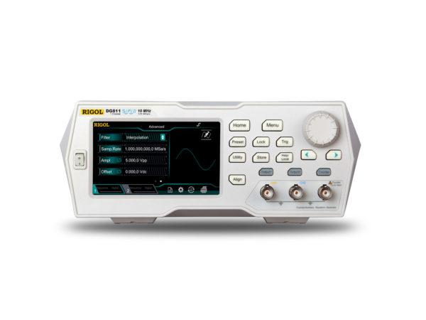 Rigol DG811 10MHz Funktiogeneraattori