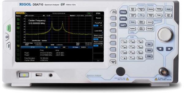 DSA710 Spectrum Analyzator