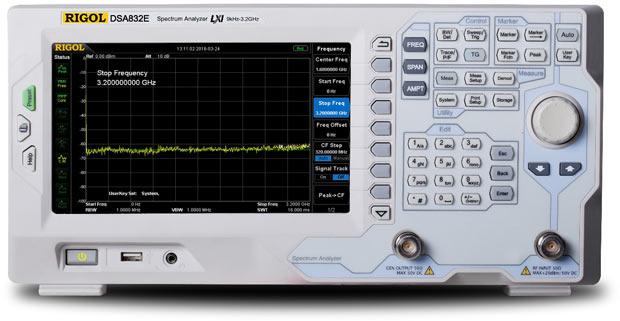Rigol DSA832E-TG Spectrum Analyzer 3 2GHz with built-in Tracking Generator