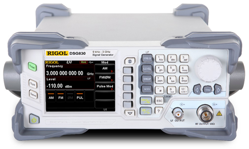 Rigol Dsg830 3ghz Radiotaajuus Rf Signaaligeneraattori