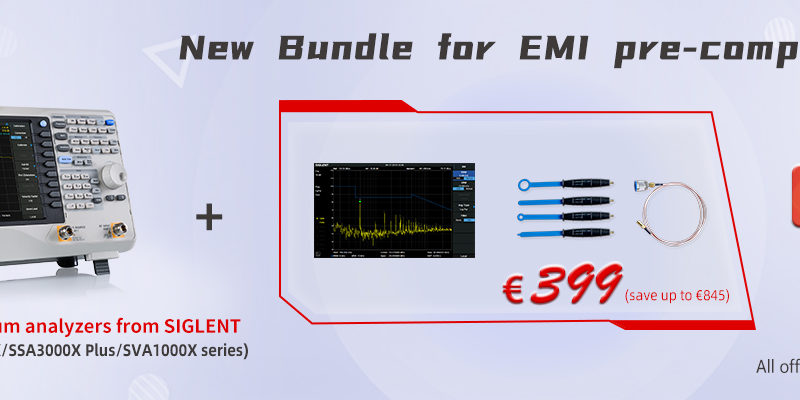 Siglent The EMI-option-Bundle (Near-field probes and EMI option)