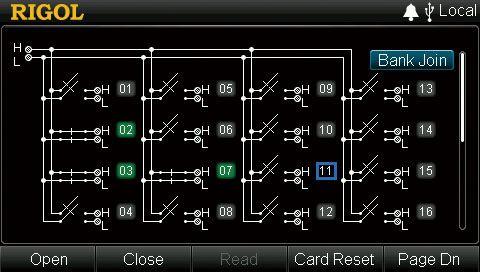 Rigol MC3120 Control Interface