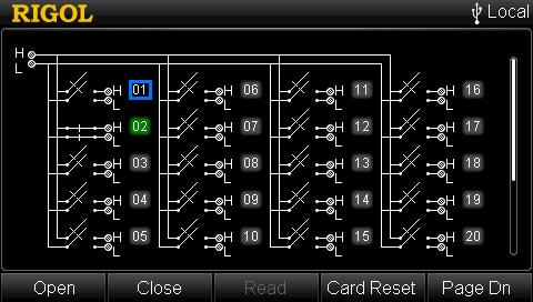 Rigol MC3324 Control Interface