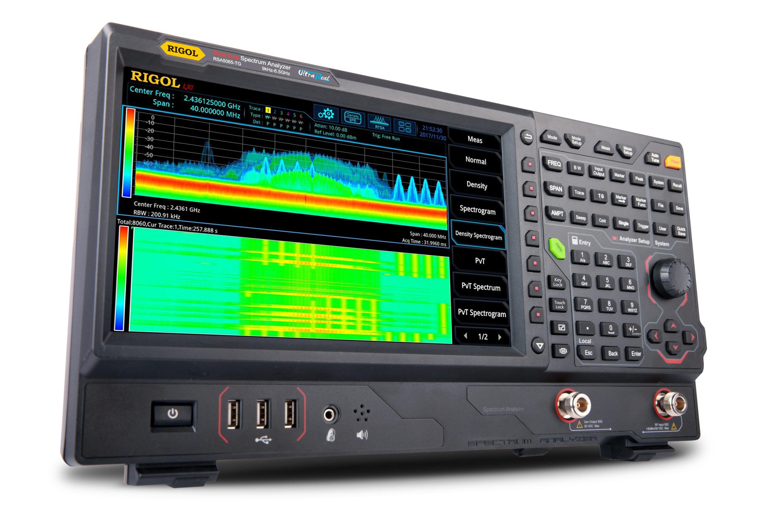 with Tracking Generator Rigol DSA832E-TG Spectrum Analyzer 9kHz to 3.2GHz