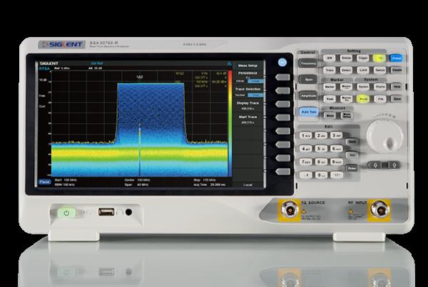 Siglent SSA3000X-R Reaaliaikainen spektrinanalysaattori