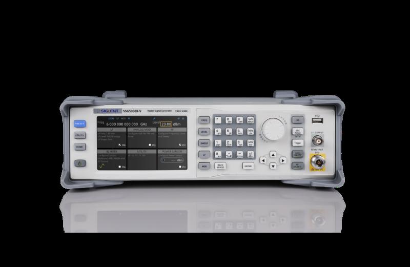 Siglent SSG5060X-V 6GHz Radiotaajuus(RF) Signaaligeneraattori (IQ modulaatio)