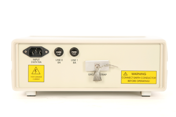 [:fi]Tekbox TBLC08 LISN keinoverkko AC 250V Back[:]