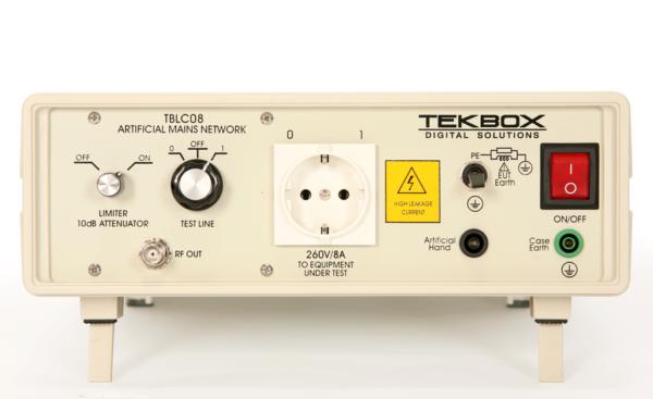[:en]Tekbox TBLC08 LISN keinoverkko[:fi]Tekbox TBLC08 LISN AC keinoverkko CISPR 16[:]